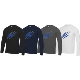Heriot-Watt Wolverines - Performance Long Sleeve T Shirt