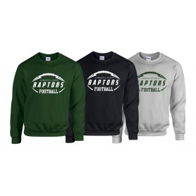 Jurassic Coast Raptors - Ball Logo Sweat Shirt