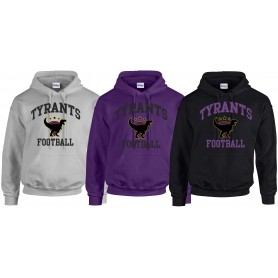 Manchester Tyrants - Football Logo Hoodie