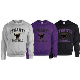 Manchester Tyrants - Football Logo Sweat Shirt