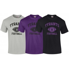 Manchester Tyrants - Custom Ball 1 T Shirt
