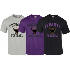 Manchester Tyrants - Football Logo T Shirt