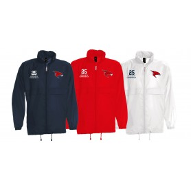 Kent Falcons - Customised Embroidered Lightweight College Rain Jacket