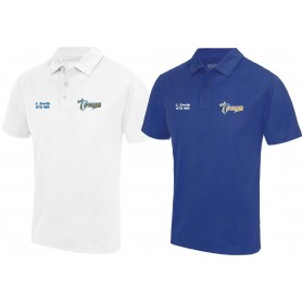 Manchester Titans - Embroidered Performance Polo Shirt