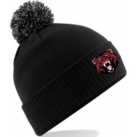 Bradford Bears - Embroidered Bobble Hat