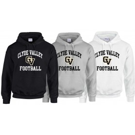 Clyde Valley Hawks - Youth Football Logo Hoodie