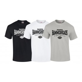 Swansea Hammerheads - Custom Ball Logo 2 T Shirt