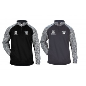 Swansea Hammerheads - Embroidered Tonal Blend Sport Quarter Zip