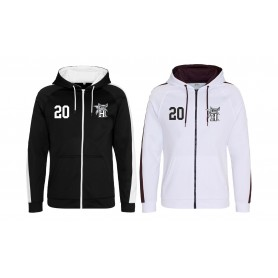 Swansea Hammerheads - Embroidered Sports Performance Zip Hoodie