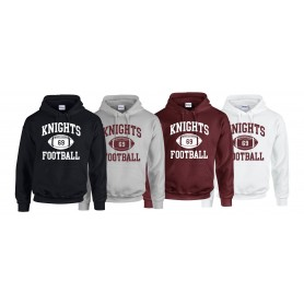 Northants Knights Academy - Custom Ball Logo 1 Hoodie