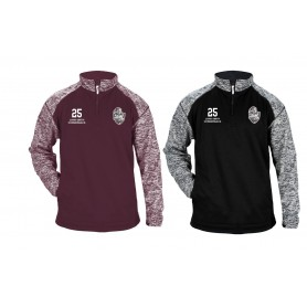 Northants Knights Academy - Embroidered Tonal Blend Sport 1/4 Zip