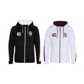 Northants Knights Academy - Embroidered Sports Performance Zip Hoodie