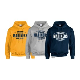 Greenwich Marines - Laces Logo Hoodie