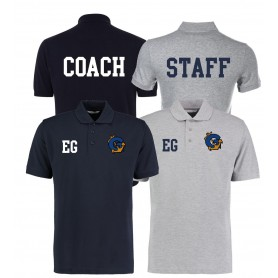 Greenwich Marines - Print And Embroidered Coach Or Staff Polo Shirt