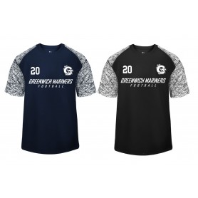 Greenwich Marines - Printed Blend Performance T Shirt