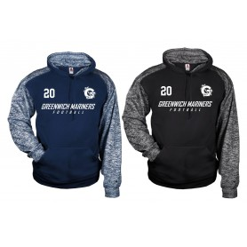 Greenwich Marines - Sports Blend Text Logo Hoodie