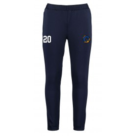 Greenwich Mariners - Customised Embroidered Zipped Pocketed Slim Fit Track Trousers