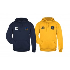 Greenwich Mariners - Embroidered Performance Poly Fleece Hoodie