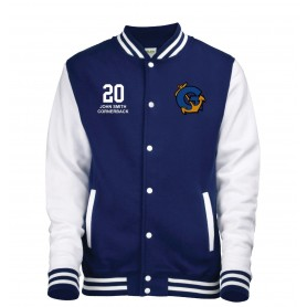 Greenwich Mariners - Embroidered Varsity Jacket