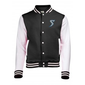 Morecambe Bay Storm - Embroidered Varsity Jacket