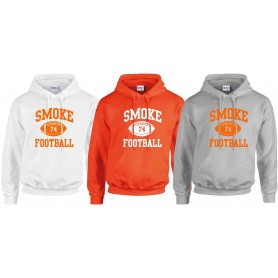 London Smoke - Custom ball 1 Logo Hoodie