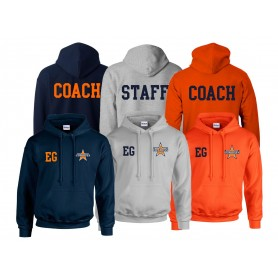Craigavon Cowboys - Printed And Embroidered Coach Or Staff Hoodie