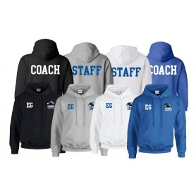 Huddersfield Hawks - Print and Embroidered Coach Or Staff Hoodie