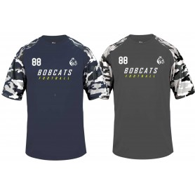 BU Bobcats - Printed Camo Performance T Shirt