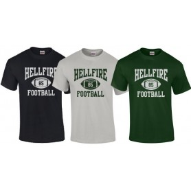 Lincolnshire Hellfire - Custom Ball Logo 1 T Shirt