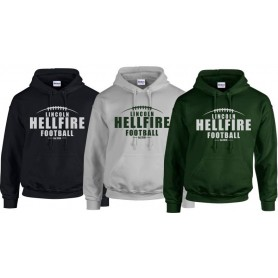 Lincolnshire Hellfire - Laces Logo Hoodie
