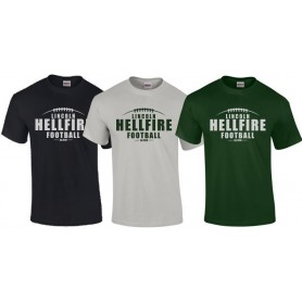 Lincolnshire Hellfire - Laces Logo T Shirt