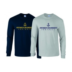 Portsmouth Dreadnoughts Women - Anchor Text Long Sleeve T Shirt