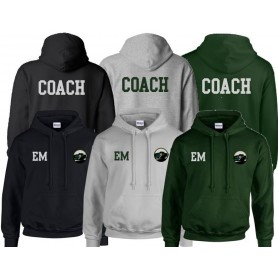 Lincolnshire Hellfire - Coaches Print And Embroidered Hoodie
