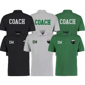 Lincolnshire Hellfire - Coaches Print And Embroidered Polo Shirt