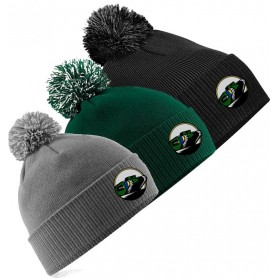 Lincolnshire Hellfire - Embroidered Bobble Hat
