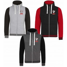 Medway Assassins - Embroidered Zip Varsity Hoodie