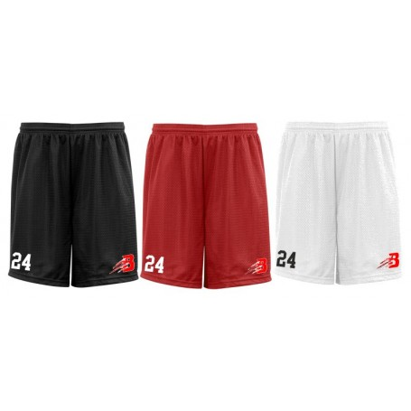 Bournemouth Bobcats - Embroidered Mesh Shorts