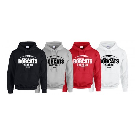 Bournemouth Bobcats - Laces Logo Hoodie