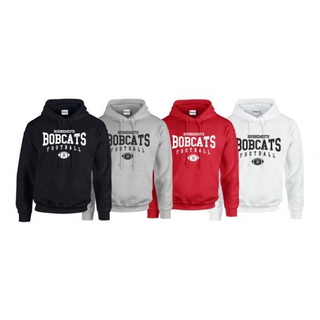 Bournemouth Bobcats - Custom Ball Logo Hoodie 2
