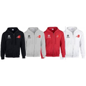 Bournemouth Bobcats - Customised Embroidered Zip Hoodie