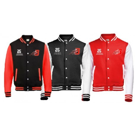 Bournemouth Bobcats - Embroidered Varsity Jacket