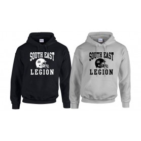 South East Legion - Custom Helmet Logo Hoodie