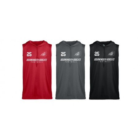 Bournemouth Bobcats - B Core Sleeveless Hoodie