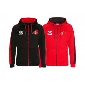 copy of Birmingham Bulls - Embroidered Sports Performance Zip Hoodie