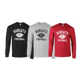 Bournemouth Bobcats - Custom Ball Logo 1 Longsleeve T Shirt