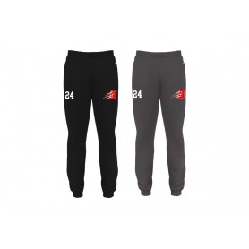 Bournemouth Bobcats - Badger Embroidered Cuff Joggers