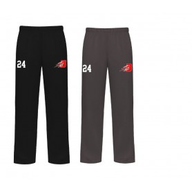 copy of Manchester Tyrants - Embroidered Badger Open Bottom Joggers