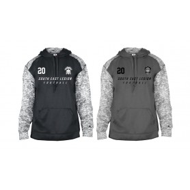 South East Legion - Embroidered Sports Blend Text Logo Hoodie