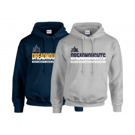 Portsmouth Dreadnoughts Women - Athletic Split Text Hoodie