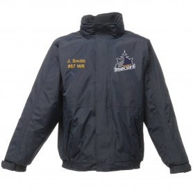Portsmouth Dreadnoughts Women - Ship Logo Embroidered Heavyweight Dover Rain Jacket